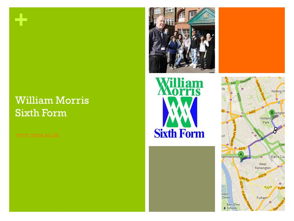 William Morris Sixth Form