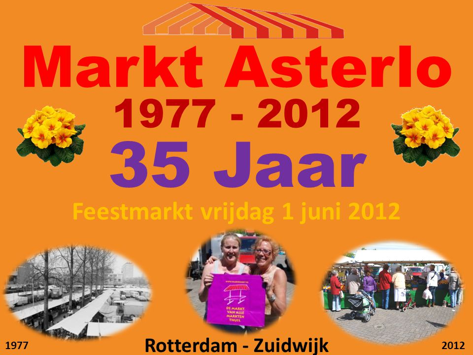 Feestmarkt vrijdag 1 juni 2012
