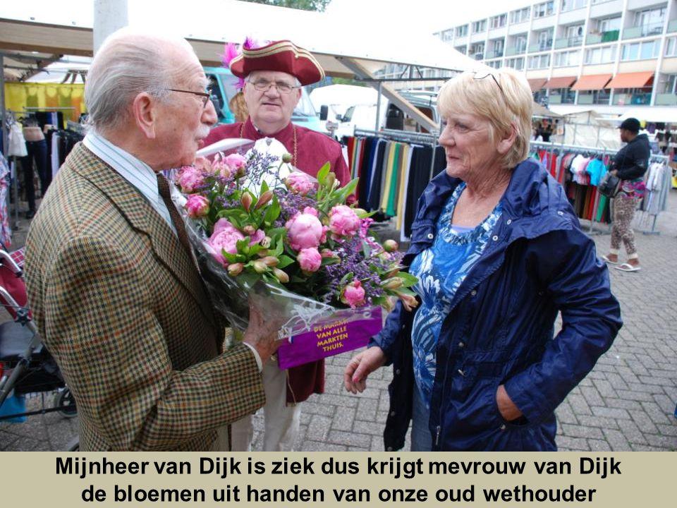 Mijnheer van Dijk is ziek dus krijgt mevrouw van Dijk