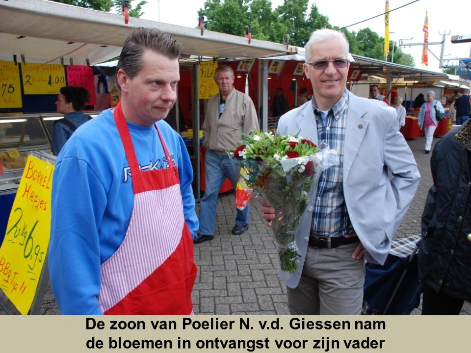 De zoon van Poelier N. v.d. Giessen nam