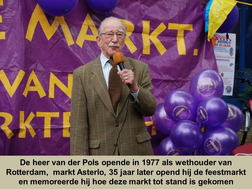 De heer van der Pols opende in 1977 als wethouder van