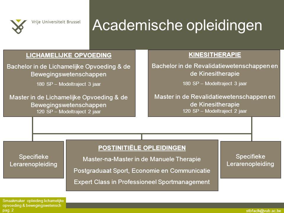 Academische opleidingen