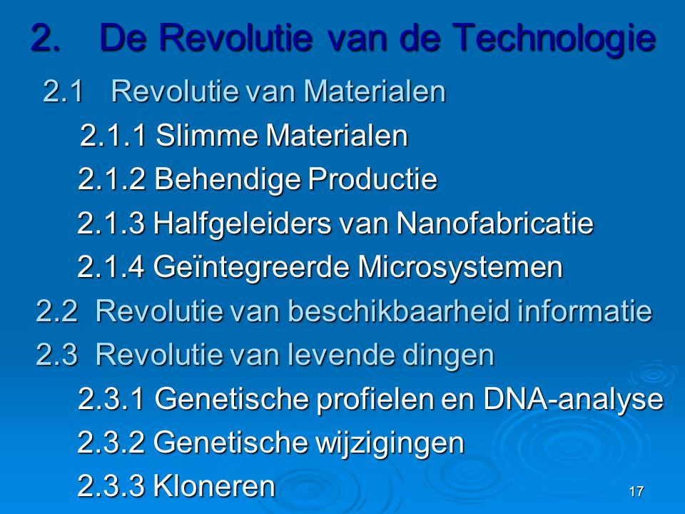 2. De Revolutie van de Technologie