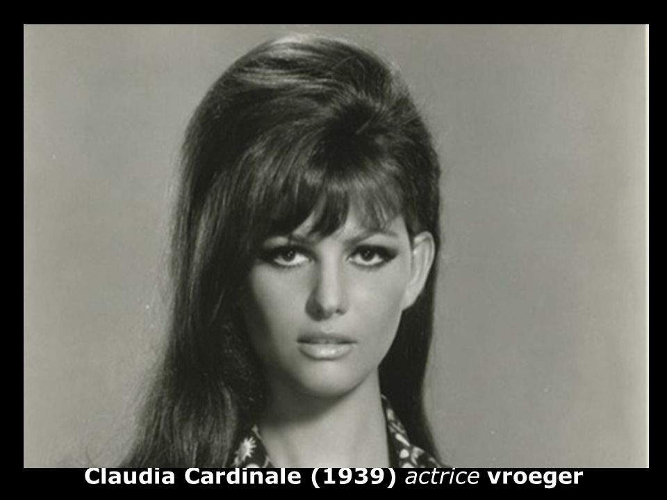 Claudia Cardinale (1939) actrice vroeger