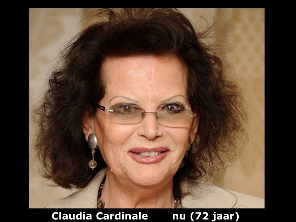 Claudia Cardinale nu (72 jaar)