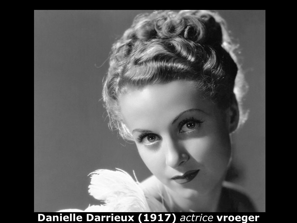 Danielle Darrieux (1917) actrice vroeger