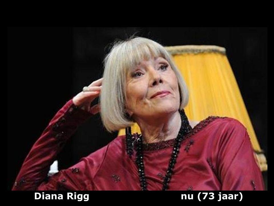 Diana Rigg nu (73 jaar)