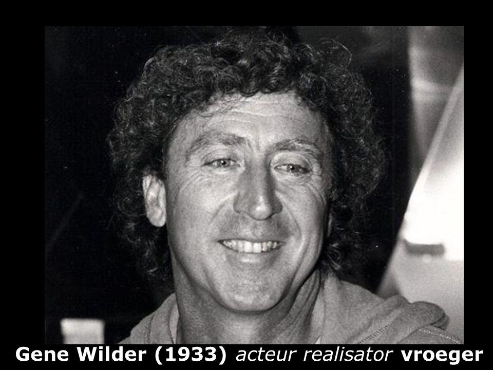 Gene Wilder (1933) acteur realisator vroeger