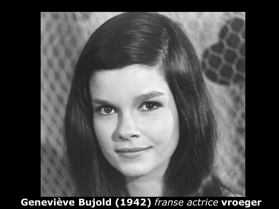 Geneviève Bujold (1942) franse actrice vroeger
