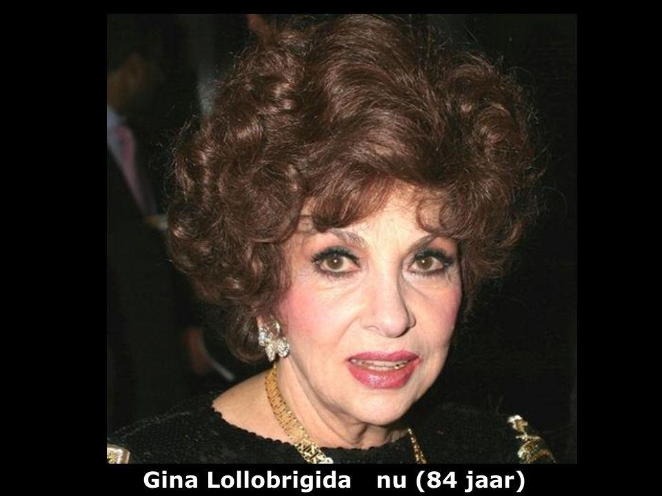 Gina Lollobrigida nu (84 jaar)