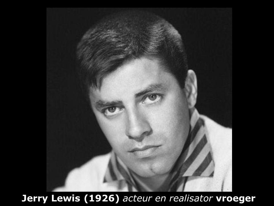 Jerry Lewis (1926) acteur en realisator vroeger