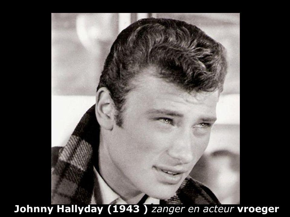 Johnny Hallyday (1943 ) zanger en acteur vroeger