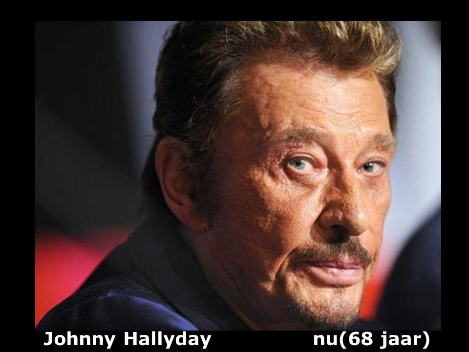 Johnny Hallyday nu(68 jaar)
