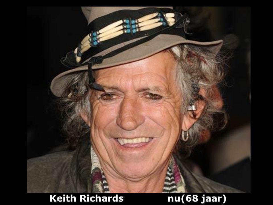 Keith Richards nu(68 jaar)