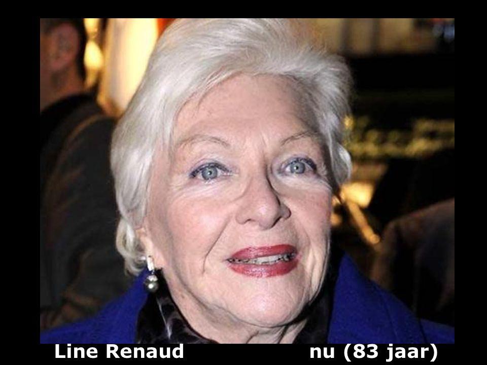 Line Renaud nu (83 jaar)