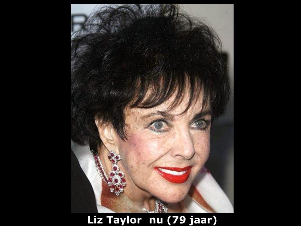 Liz Taylor nu (79 jaar)