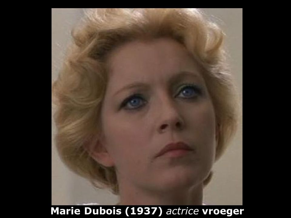 Marie Dubois (1937) actrice vroeger
