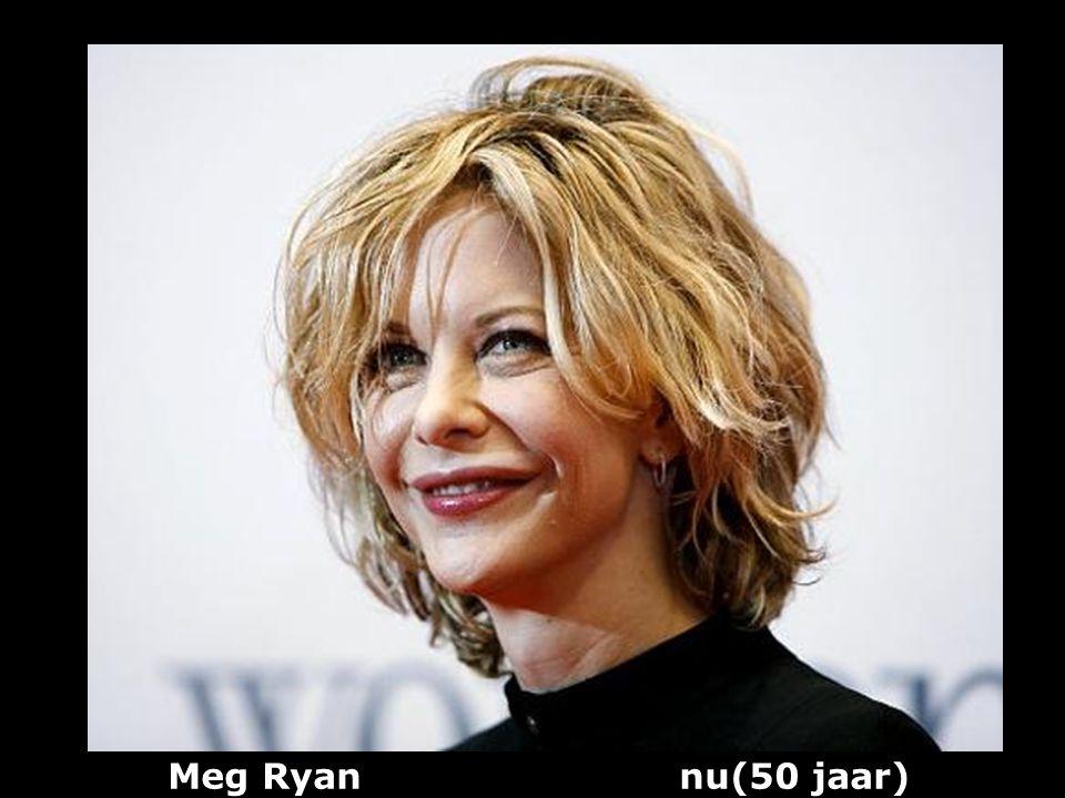 Meg Ryan nu(50 jaar)