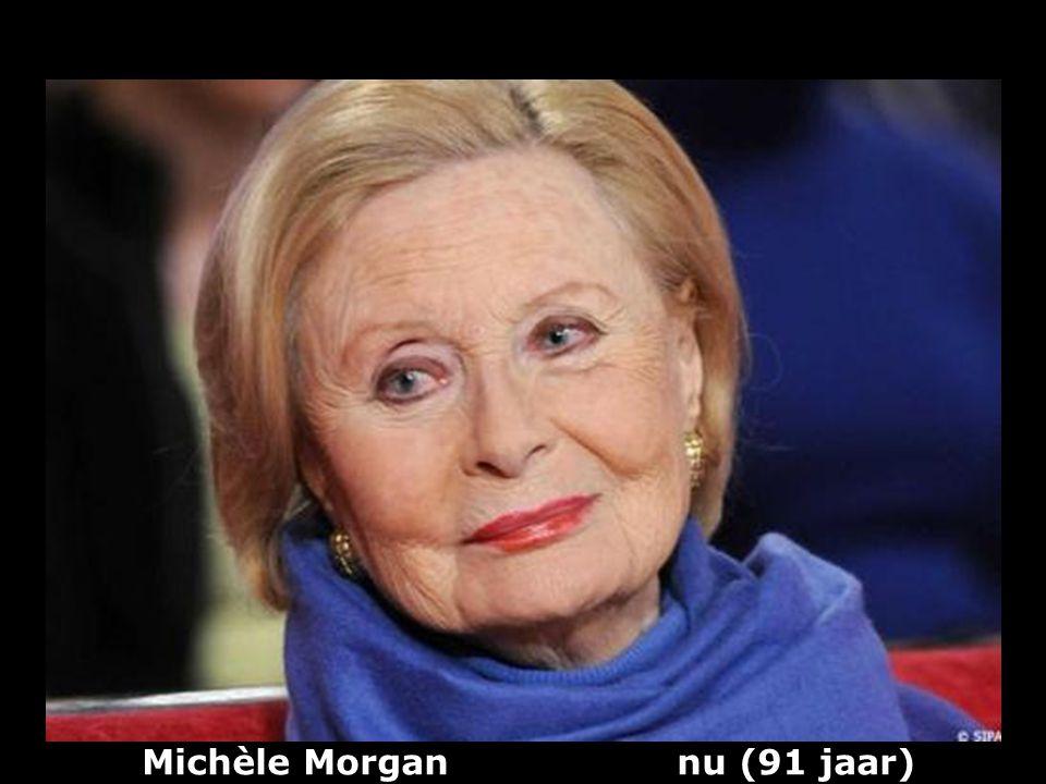 Michèle Morgan nu (91 jaar)