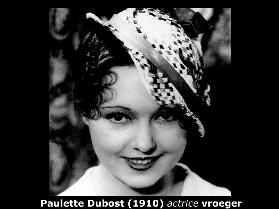 Paulette Dubost (1910) actrice vroeger