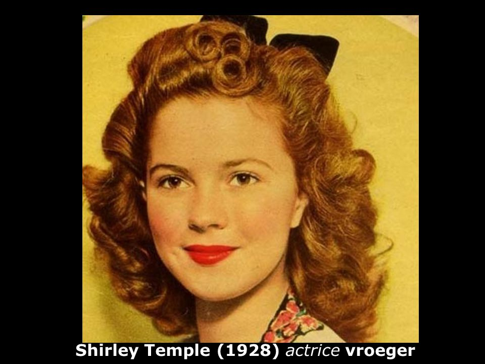 Shirley Temple (1928) actrice vroeger