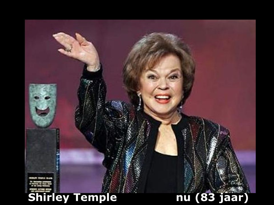 Shirley Temple nu (83 jaar)
