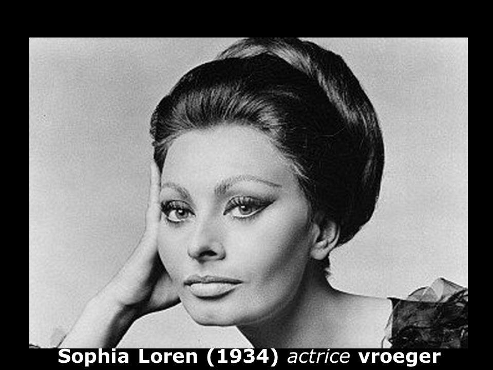 Sophia Loren (1934) actrice vroeger