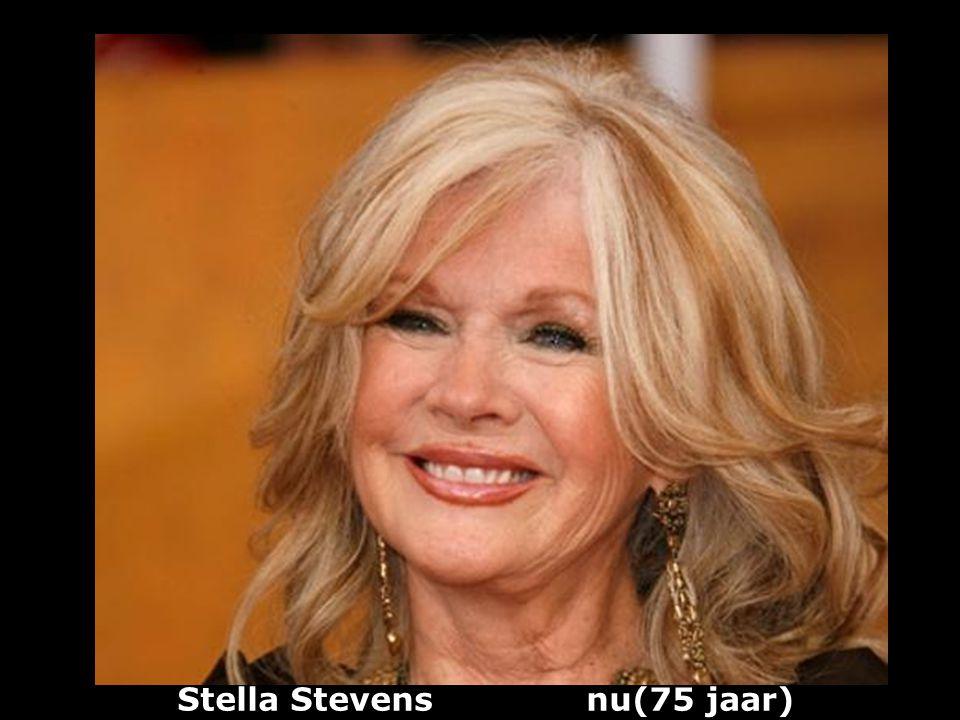 Stella Stevens nu(75 jaar)