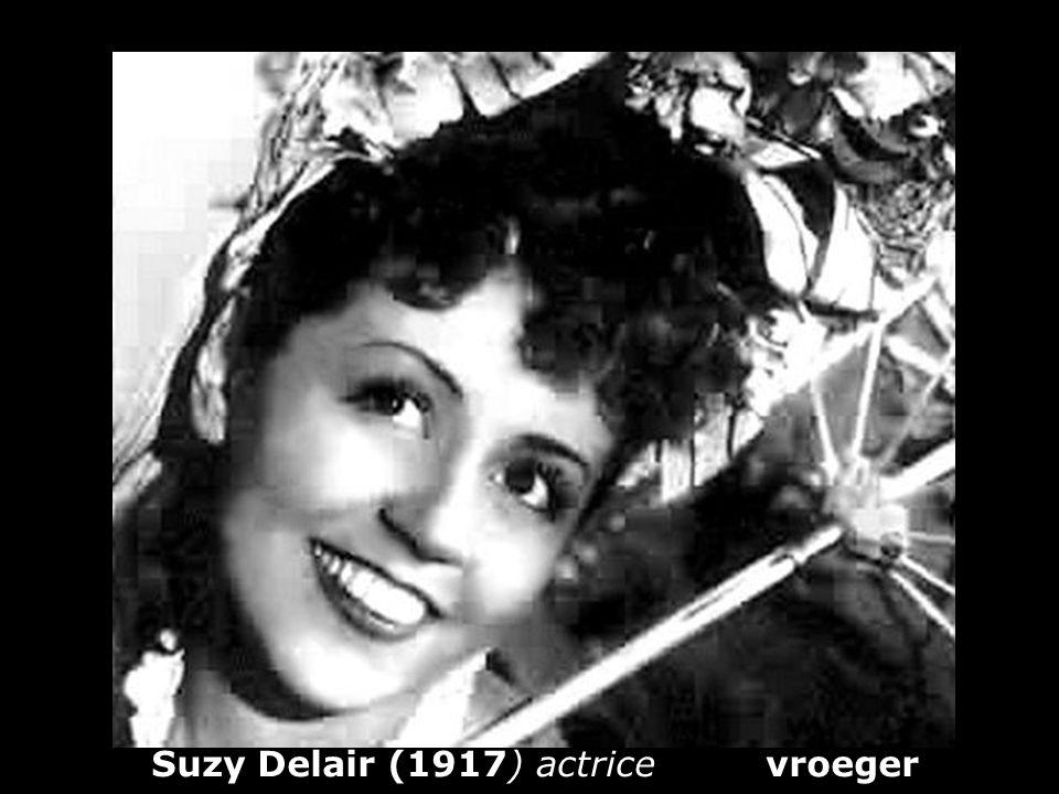 Suzy Delair (1917) actrice vroeger