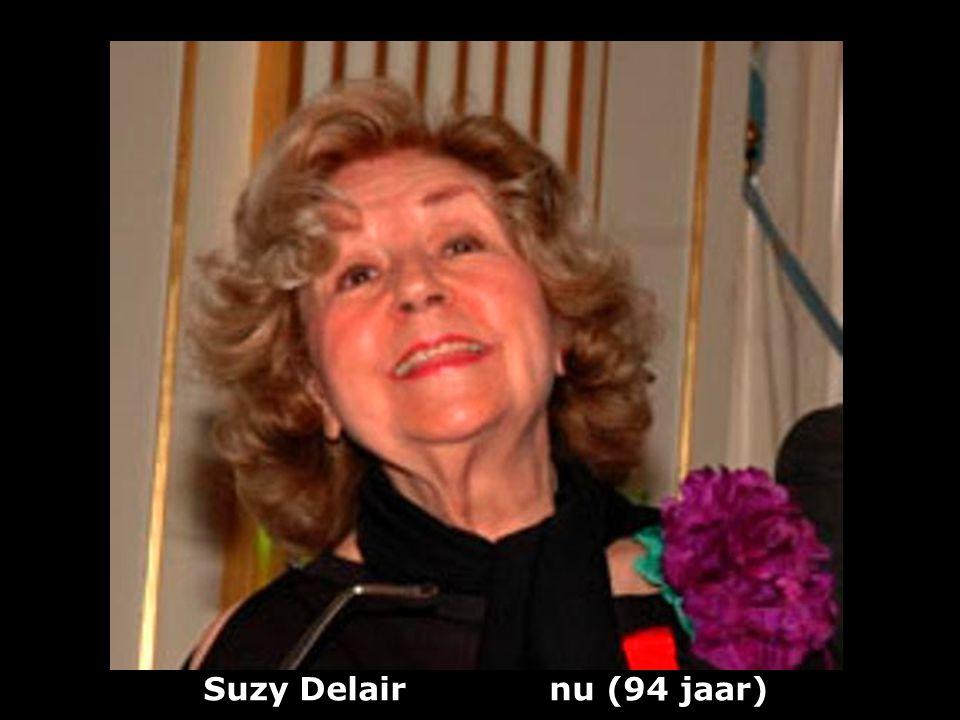 Suzy Delair nu (94 jaar)