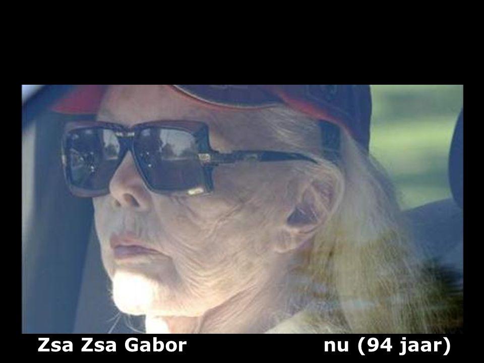 Zsa Zsa Gabor nu (94 jaar)