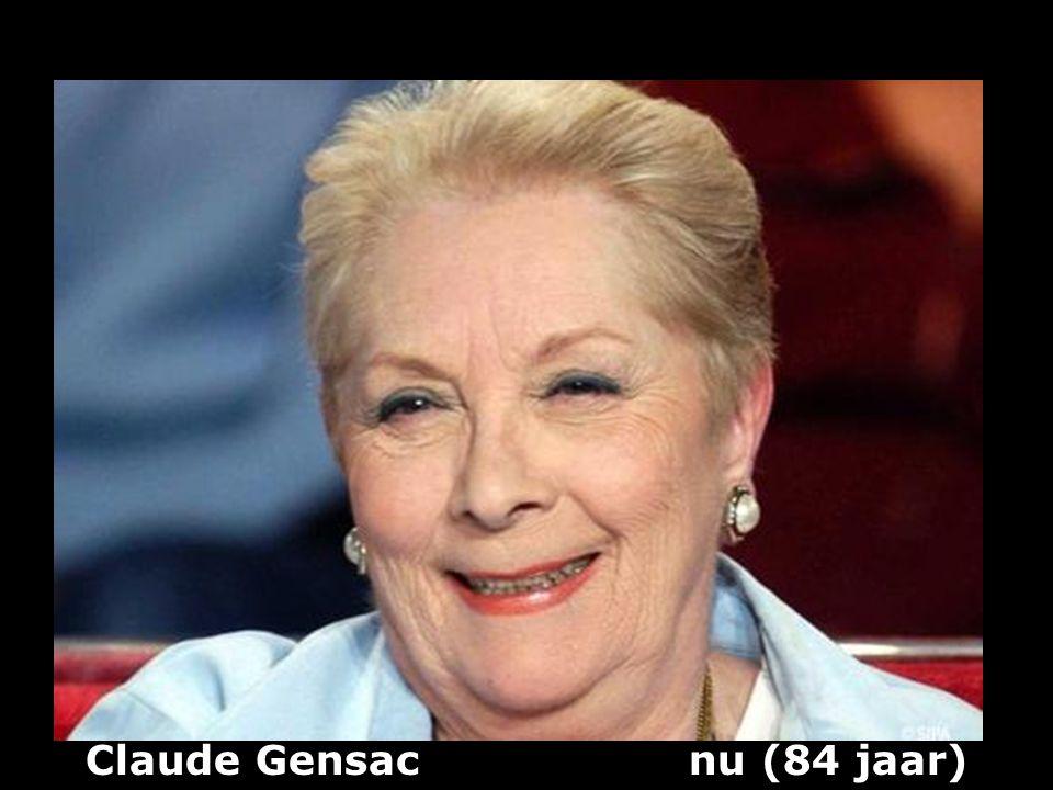 Claude Gensac nu (84 jaar)
