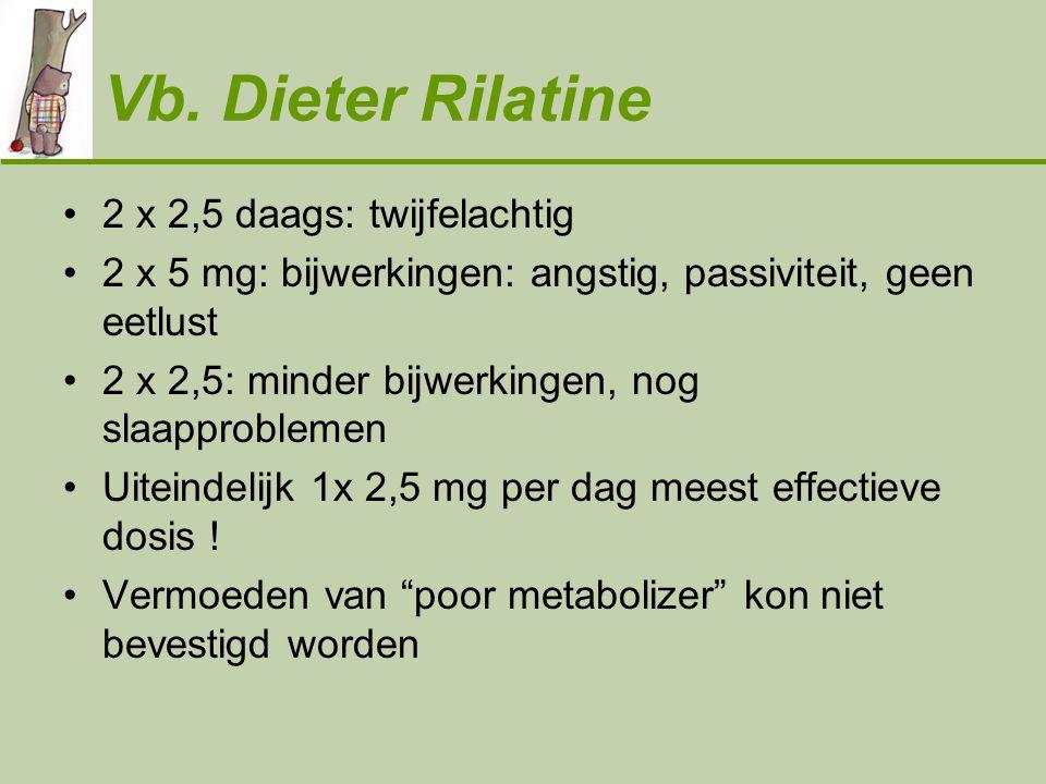 Vb. Dieter Rilatine 2 x 2,5 daags: twijfelachtig