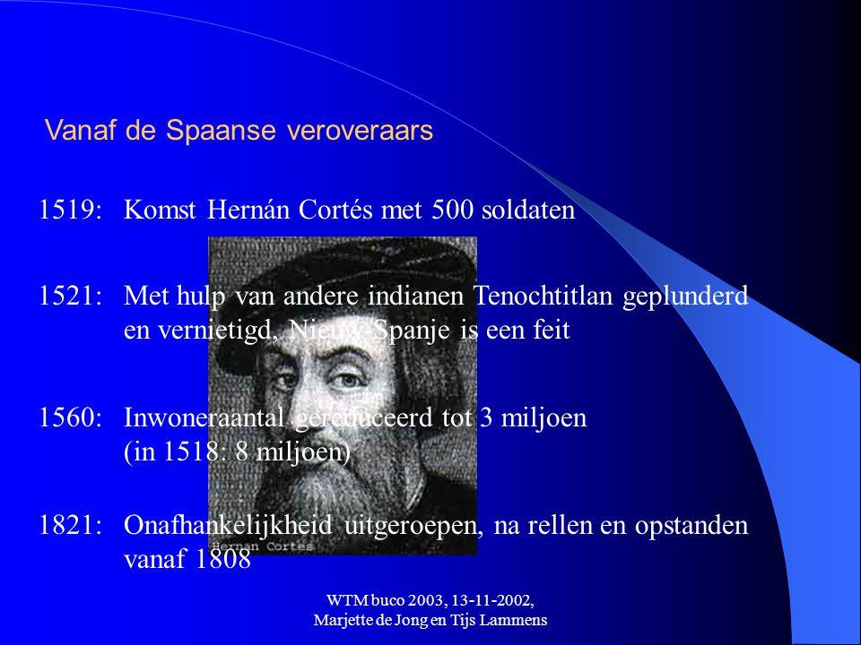 WTM buco 2003, 13-11-2002, Marjette de Jong en Tijs Lammens