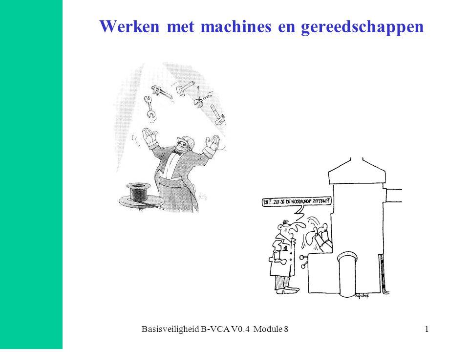 Werken met machines en gereedschappen