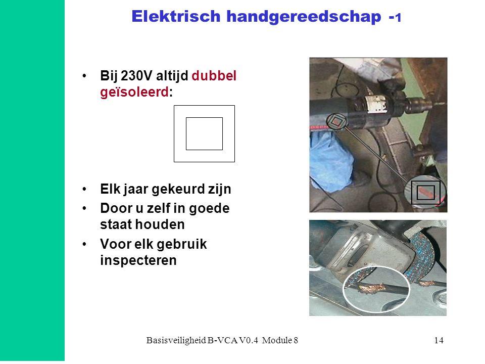 Elektrisch handgereedschap -1