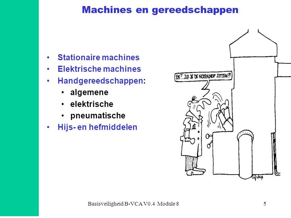 Machines en gereedschappen