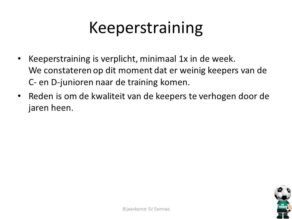 Keeperstraining
