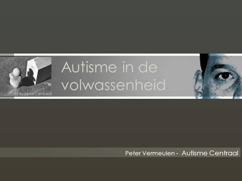Autisme in de volwassenheid