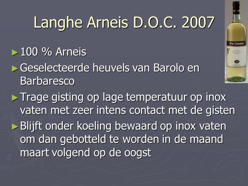 Langhe Arneis D.O.C. 2007 100 % Arneis