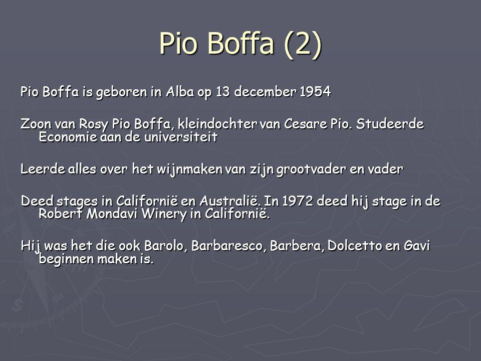 Pio Boffa (2) Pio Boffa is geboren in Alba op 13 december 1954