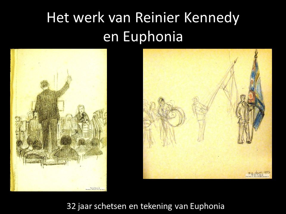 Het werk van Reinier Kennedy en Euphonia