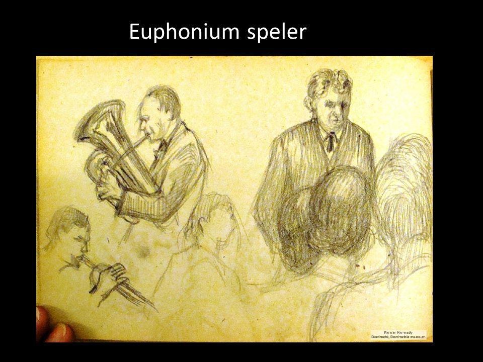 Euphonium speler