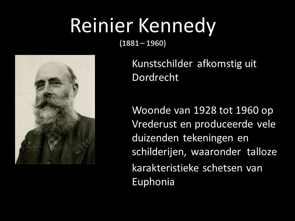 Reinier Kennedy (1881 – 1960) Kunstschilder afkomstig uit Dordrecht