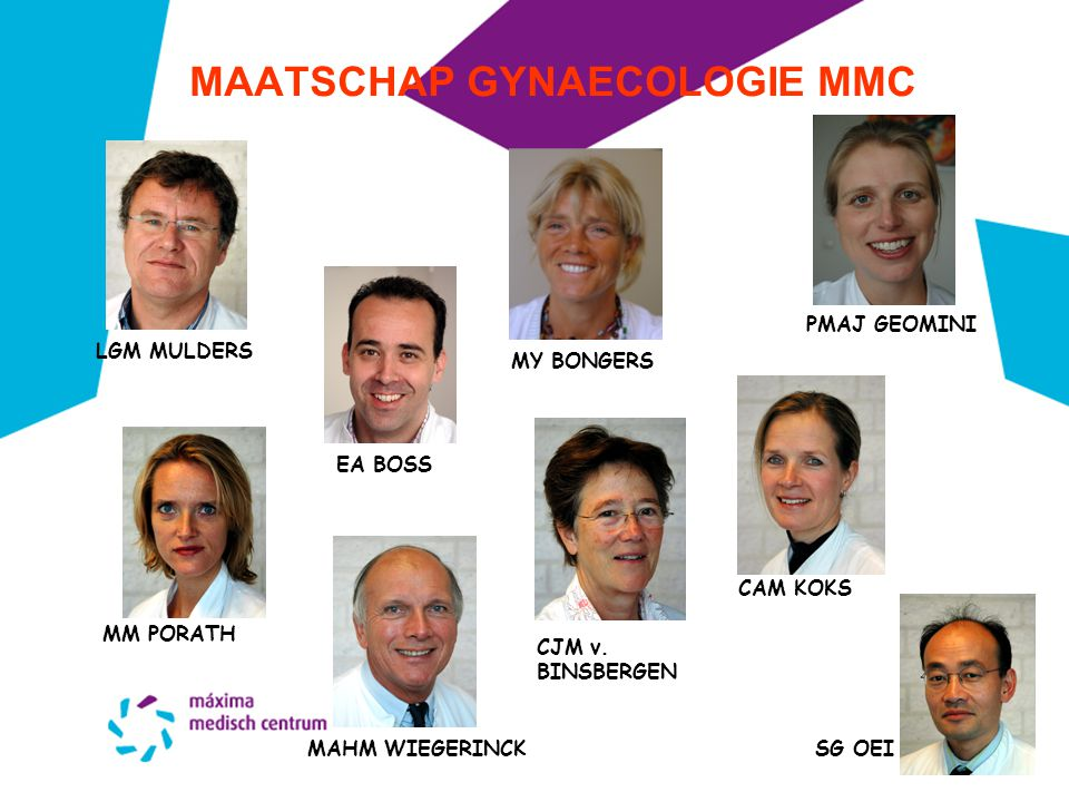 MAATSCHAP GYNAECOLOGIE MMC