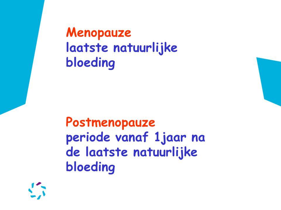 Menopauze laatste natuurlijke bloeding. Postmenopauze.