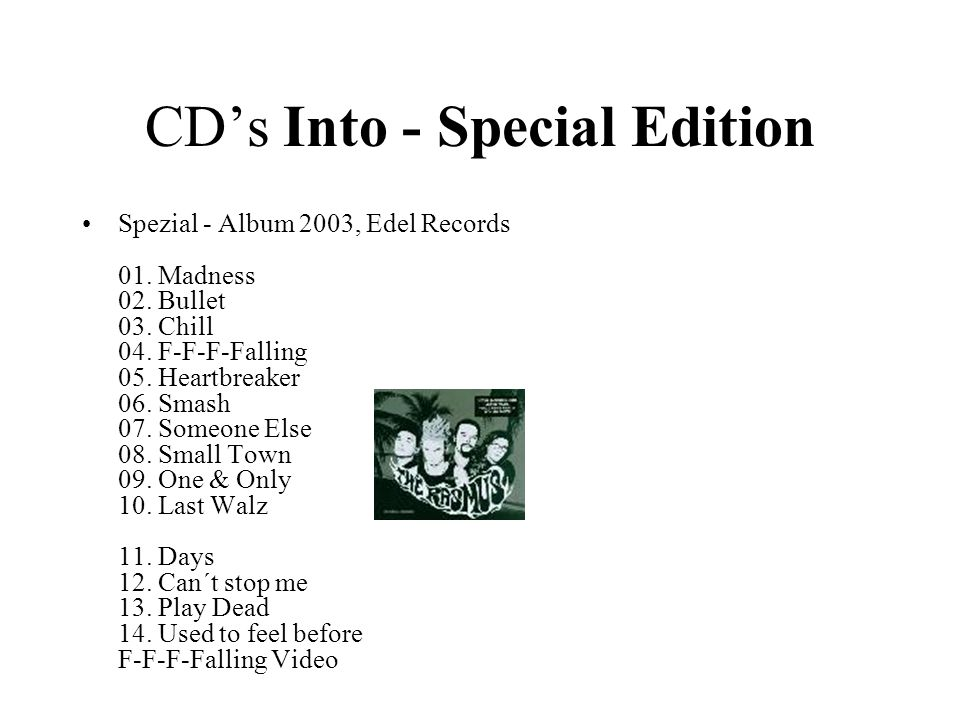 CD's Into - Special Edition