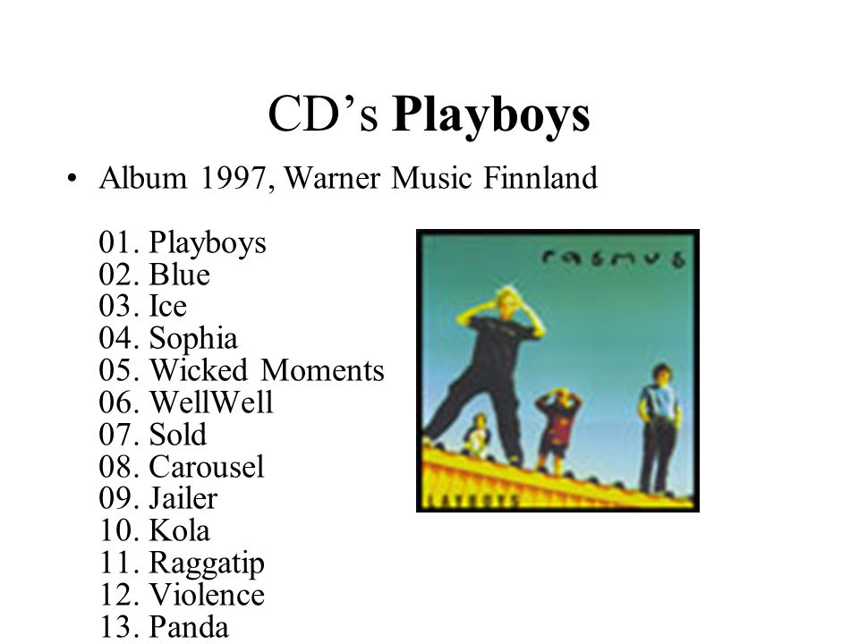 CD's Playboys
