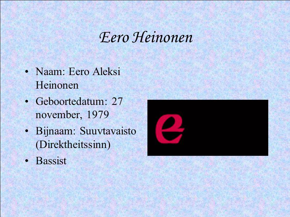 Eero Heinonen Naam: Eero Aleksi Heinonen