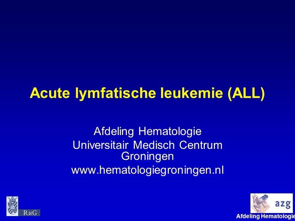 Acute lymfatische leukemie (ALL)